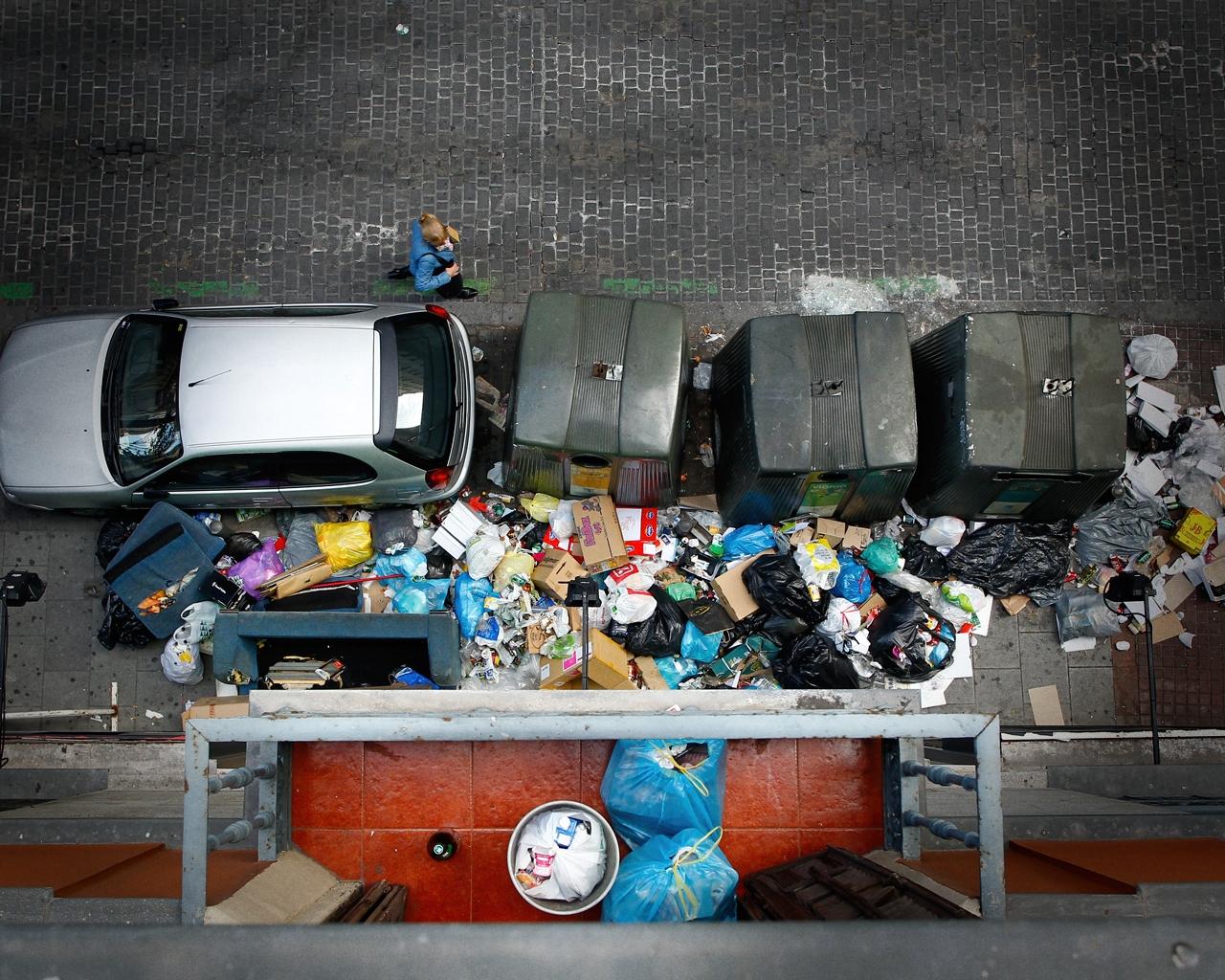 Huelga de basuras