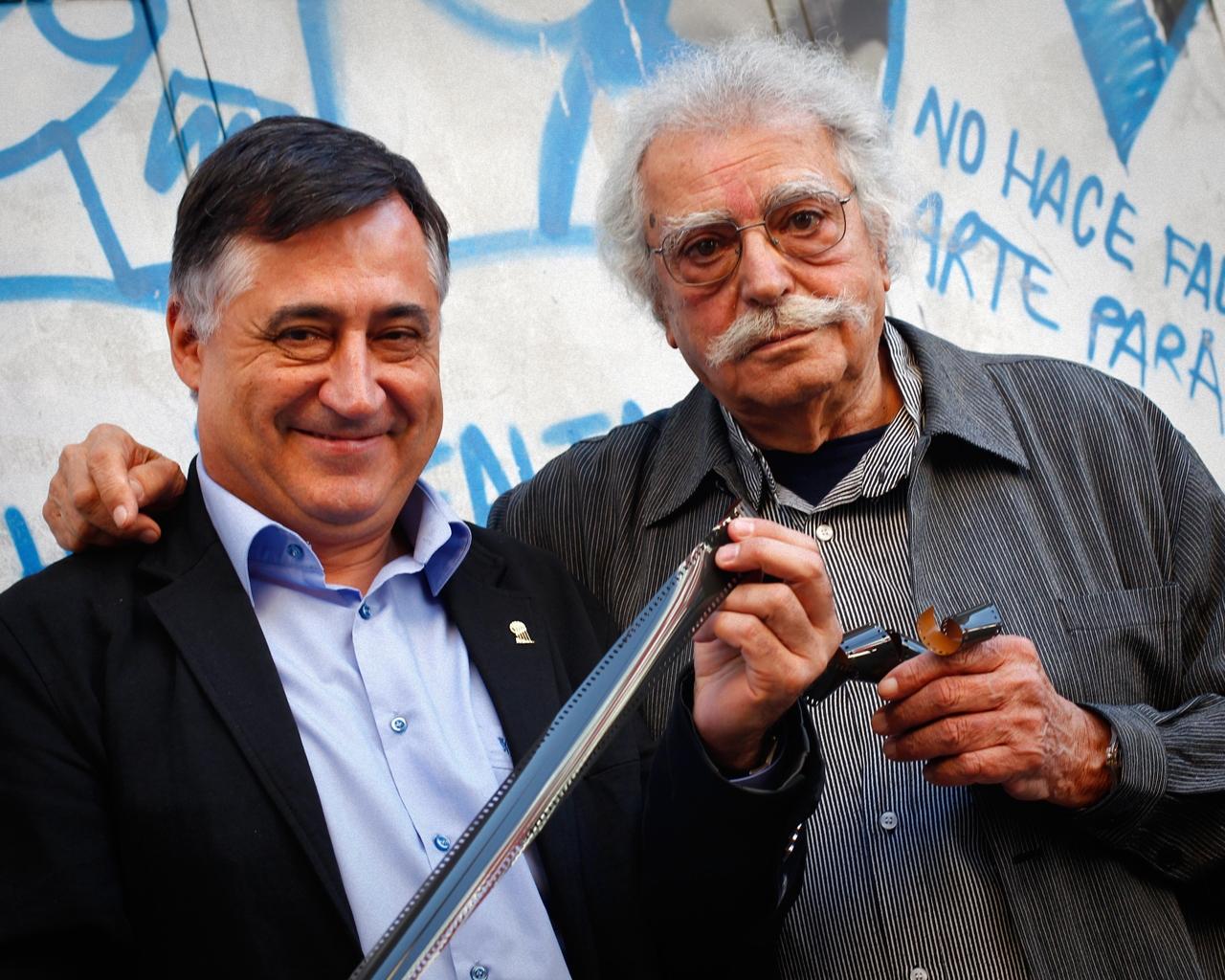 Gervasio Sánchez y Ramón Masats