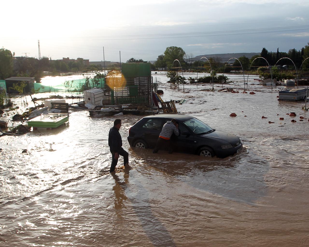 Inundaciones Arganda