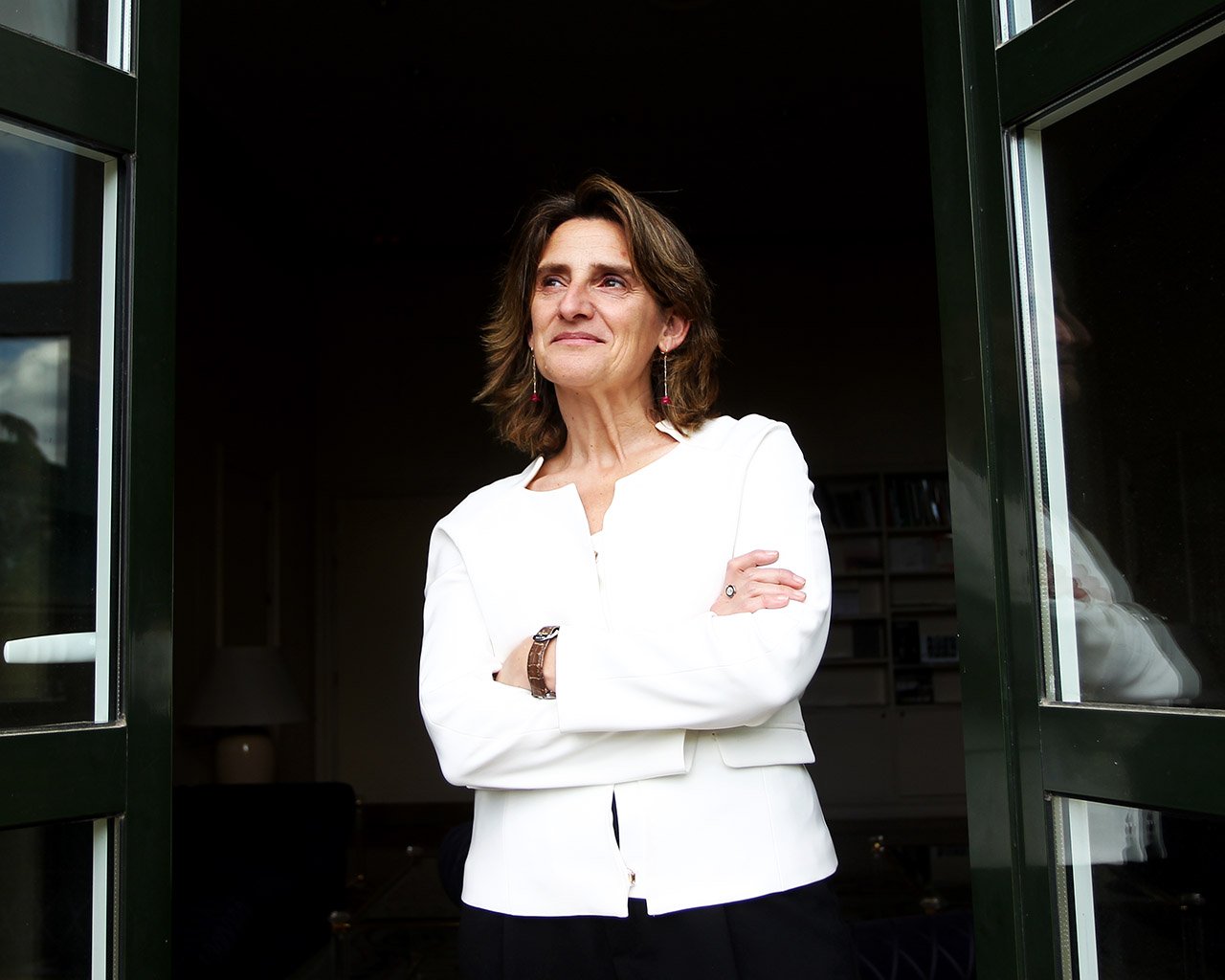 Teresa Ribera, ministra para la Transición Ecológica y el Reto Demográfico. Madrid. 04/06/2020.