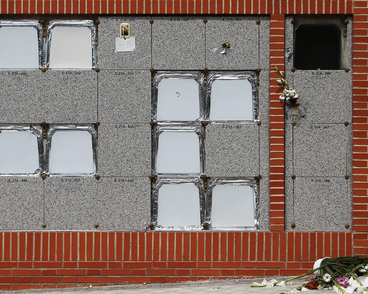 Cementerio de la Almudena. Madrid. 06/05/2020.
